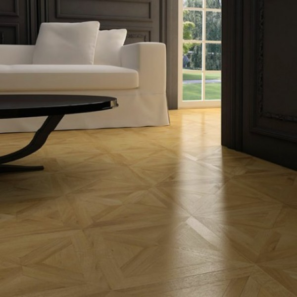 Faus Floor Bretana Oak Parquet Effect Laminate