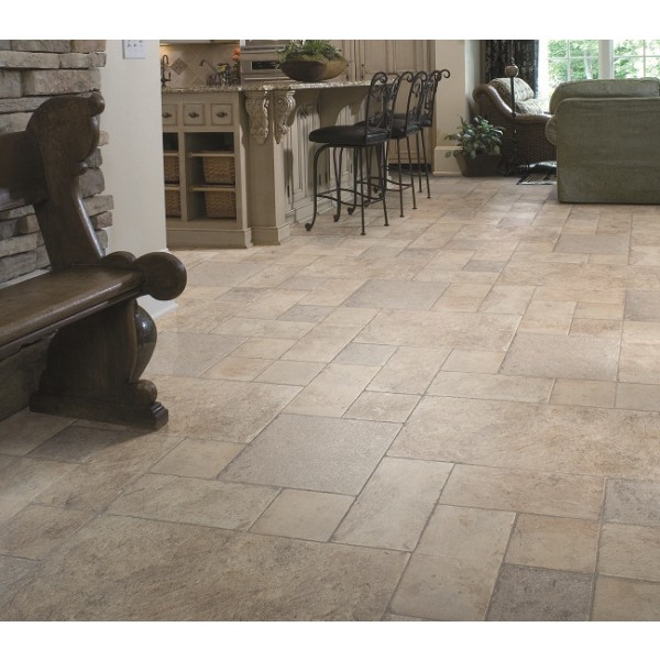 Faus Floor Palatino Vesuvio 8mm Tile Effect Laminate