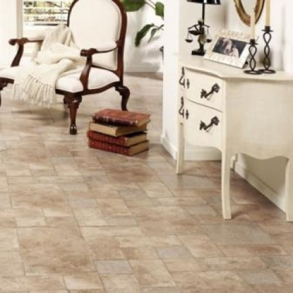 Faus Floor Palatino Vesuvio 8mm Tile Effect Laminate