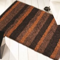 Flair Rugs Nordic Channel Orange/brown