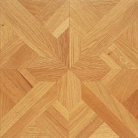Panaget Carmen Marquetry Number 2 French Oak Classic SatinTile 392mm x 392mm x 14mm