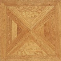 Panaget Carmen Marquetry Number 5 French Oak Classic SatinTile 392mm x 392mm x 14mm