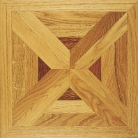 Panaget Carmen Marquetry Number 7 French Oak Classic SatinTile 392mm x 392mm x 14mm