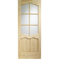 Xl Riviera Clear Pine With Clear Glass