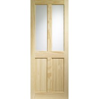 Xl Victorian Clear Pine Unglazed