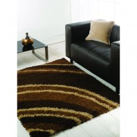 Flair Rugs Nordic Cresent Chocolate