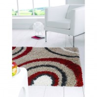 Flair Rugs Nordic Equator Black/red