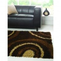 Flair Rugs Nordic Equator Chocolate