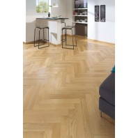 Panaget Herringbone French oak Satin 90mm x 590mm x 12mm