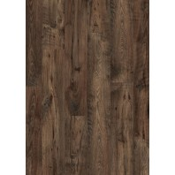 Quick-Step Laminate Flooring Eligna Wide Reclaimed Chestnut Brown Planks UW1544
