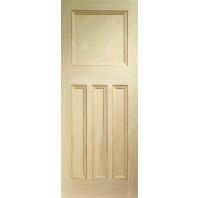 Xl Vine DX Vertical Grain Pine Door