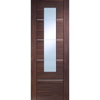 Xl Portici Walnut with Clear Glass